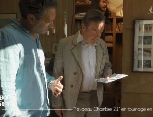 La pièce «Feydeau Chambre 21» tourne un clip en Vendée