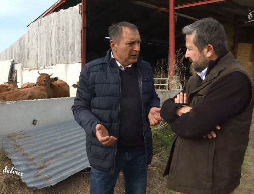 Bernard Logeais, agriculteur