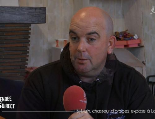Sylvain, chasseur d'orages, expose à La Ferrière