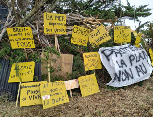 Réaction des occupants de la ZAD suite à la décision de justice d'expulsion