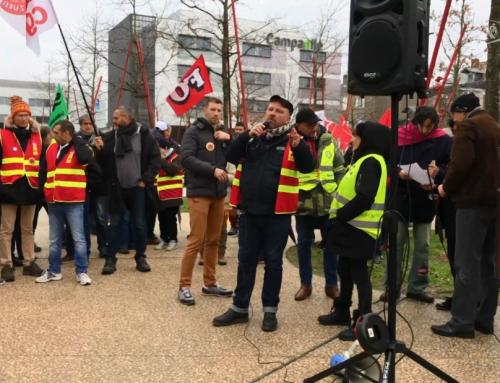 Retraites : près de 800 personnes mobilisées à La Roche-sur-Yon