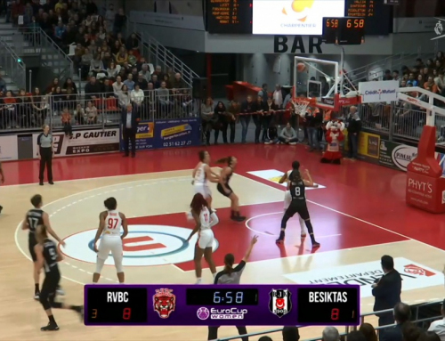 Match EuroCup Women – RVBC – BESIKTAS – 1ère Mi-temps