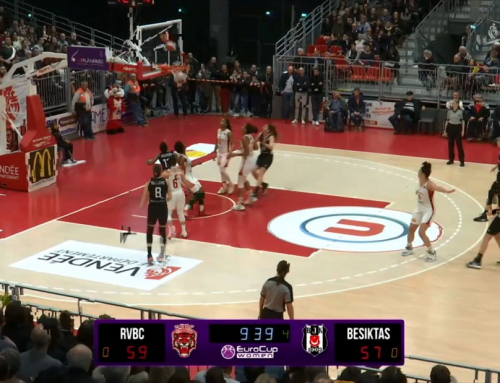 Match EuroCup Women – RVBC – BESIKTAS – 2nd Mi-temps