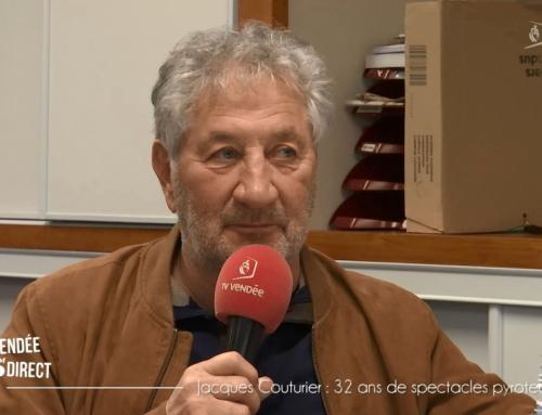 Jacques Couturier : 32 ans d'enchantement et de spectacles pyrotechniques