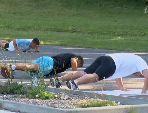 Sport : des entraînements en extérieur pour les judokas