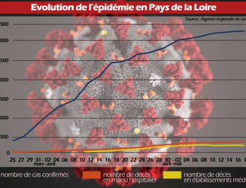 Evolution de l'épidémie en Pays de la Loire