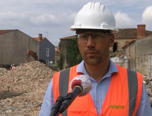 Début du chantier du nouveau siège de Vendée Grand Littoral