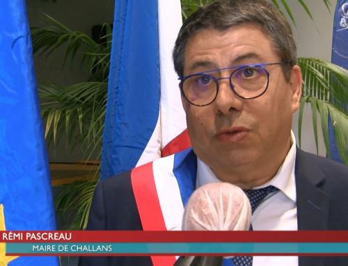 A Challans, Rémi Pascreau succède à Serge Rondeau