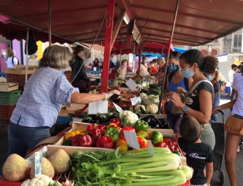 Masque obligatoire sur les marchés de St-Gilles et St-Hilaire