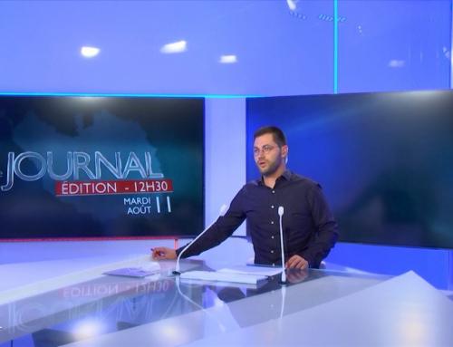 Edition du 11 Août 2020 – 12h30
