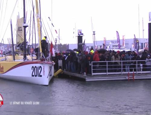 AUTOUR DU GLOBE – Le départ du Vendée Globe