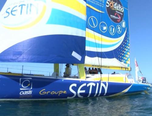 Sortie en mer pour les soignants avec le skipper Manuel Cousin