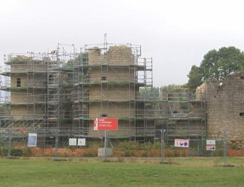 Les travaux de rénovation du château de Commequiers ont commencé