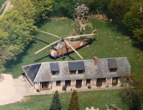 Patrimoine : un Siko en vol restaure un hélicoptère