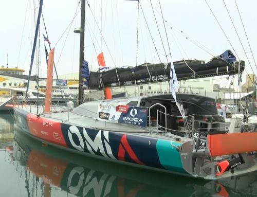 Vendée Globe : Benjamin Dutreux baptise son monocoque