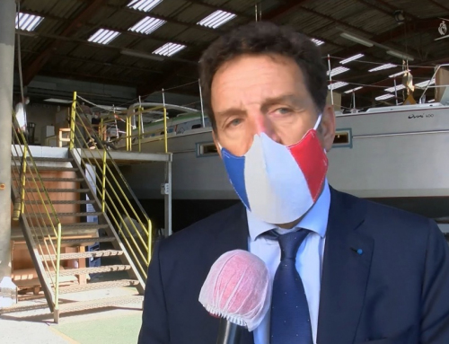 Geoffroy Roux de Bézieux président du Medef en visite en Vendée