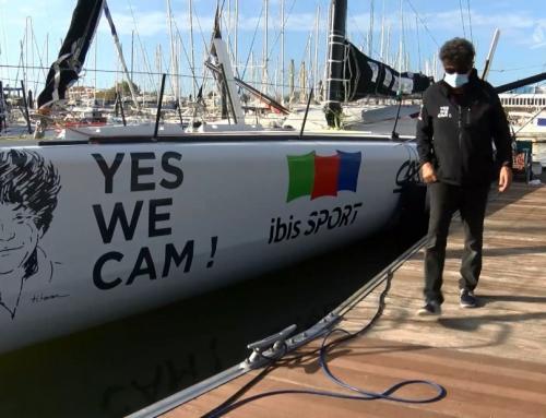 Vendée Globe : quand le doyen des skippers rencontre le benjamin