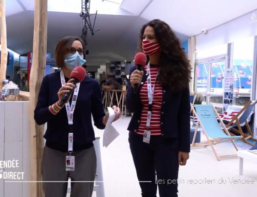 Les petits reporters du Vendée Globe font le show