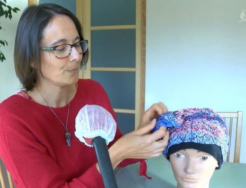 Solidarité : des bonnets pour les femmes atteintes d'un cancer