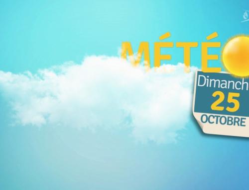La météo du 25 octobre 2020