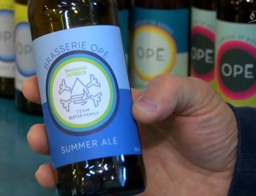 Initiative : Opé, une bière sablaise au goût de Vendée Globe