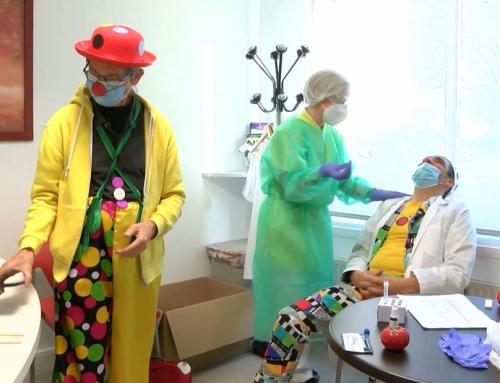 Des clowns en Ehpad en cette periode particulière
