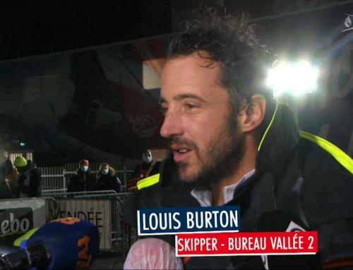Louis Burton et Thomas Ruyant respectivement 3e et 4e