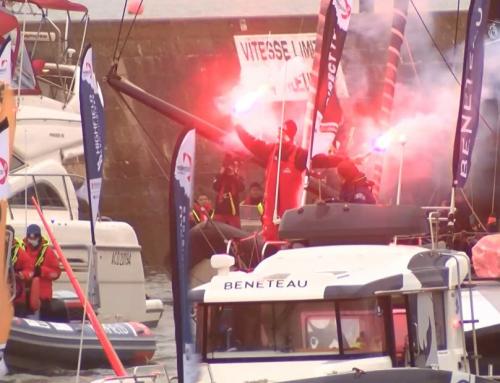 Vendée Globe : le public salue l'exploit des skippers