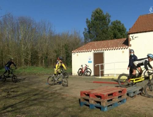 Sport : stage régional de VTT trial