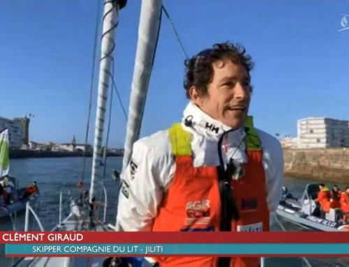 Vendée Globe : Clément Giraud franchit la ligne en 21e position