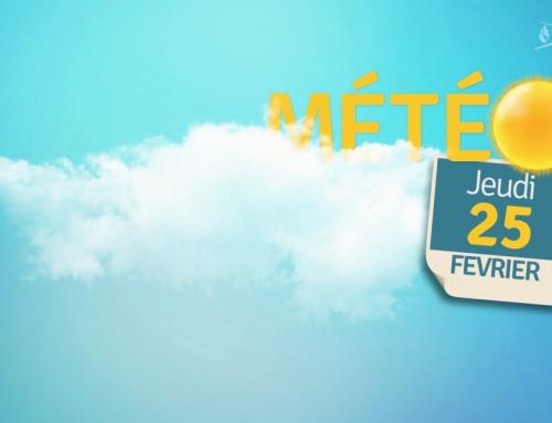La météo du 25 février 2021