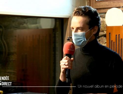 Covid et nouvel album : tournée promotionnelle adaptée pour Maxime DAVID