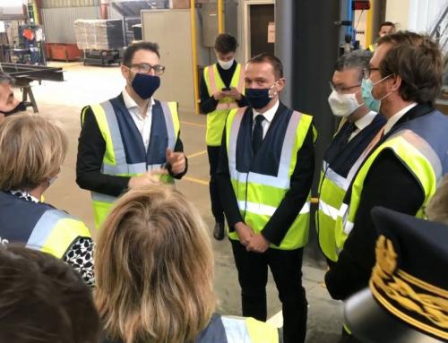 Visite d'Olivier Dussopt, ministre délégué aux comptes publics