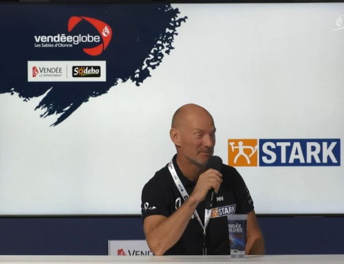 Conférence de presse d'Ari Huusela (STARK)