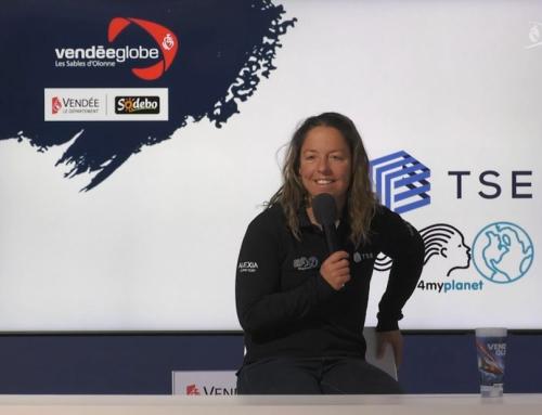 Conférence de presse d'Alexia Barrier (TSE – 4myplanet)