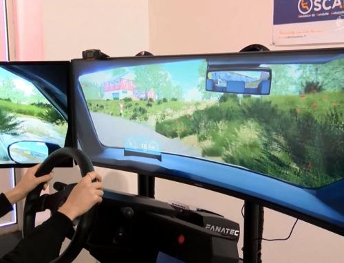 Un simulateur pour débuter l'apprentissage de la conduite