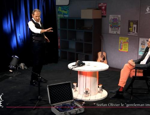 Stéfan Olivier le «gentleman imitateur»