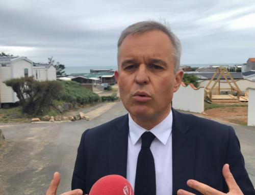 Elections régionales : Francois de Rugy présente la tête de sa liste en Vendée