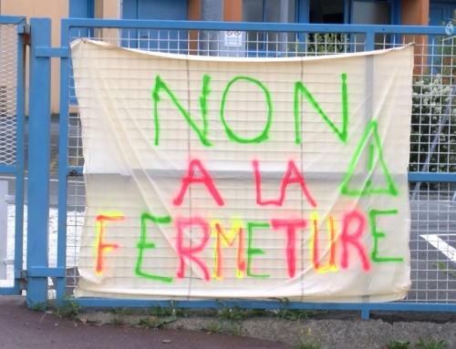 Mobilisation contre la fermeture d'une classe à Rocheservière