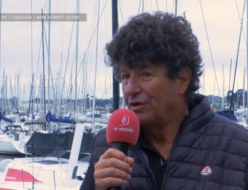 Jean Le Cam partant pour le 10e Vendée Globe