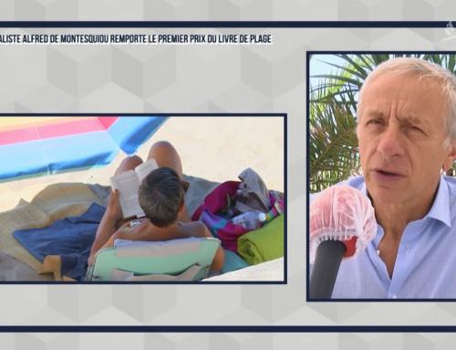 Alfred de Montesquiou lauréat du Prix du livre de plage