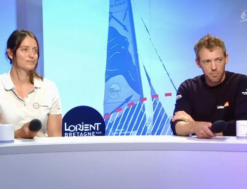 Thomas Ruyant & Justine Mettraux