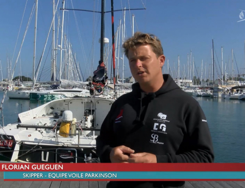 Equipe Voile Parkinson propose aux malades des navigations en mer