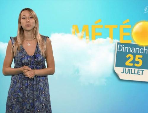 La météo du 25 juillet 2021