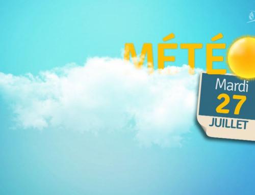 La météo du 27 juillet 2021