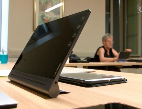 Internet : Un stage pour prendre en main la tablette numérique