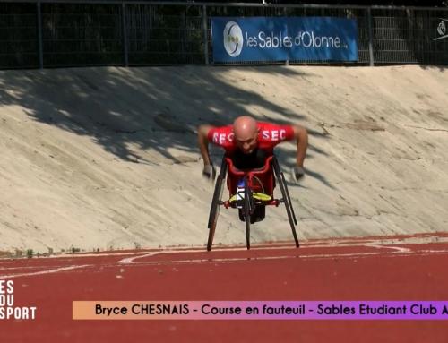 Bryce CHESNAIS – Course en fauteuil
