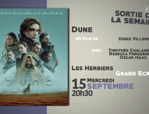 Laissez-vous guider cinéma du 15 septembre 2021
