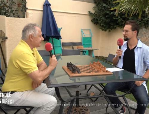Rencontre avec un médaille de bronze par équipe aux échecs
