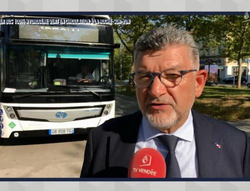Un premier bus 100% hydrogène vert à La Roche-sur-Yon